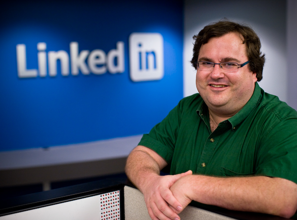 LinkedIn founder Reid Hoffman